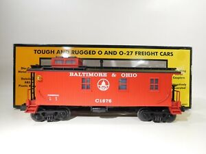 MTH-O-Gauge-Baltimore-amp-Ohio-Wood-Sided-Caboose-30-7723-C-170