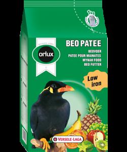 Orlux Beo Patee , 25 Kg, Complet Nourriture Pour Grands Obstfressende Oiseaux