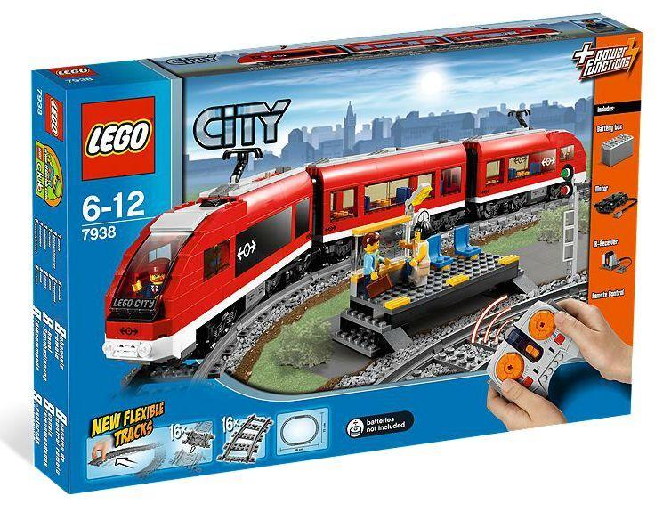 Sa New Neuf Train BoîtePassenger ® City Dans Lego 7938 Fret Yvf7yb6g