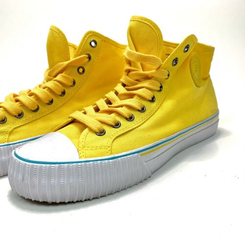 PF Flyers Size 10.5 Men's, Canary Yellow High Top