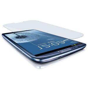 Para-Samsung-Galaxy-S3-TEMPERED-vidrio-protector-Protector-de-pantalla-pelicula-i9300-S-III-HQ
