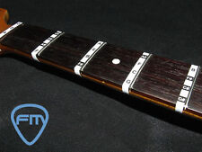 FRETBOARD NOTE STICKERS for Bass. Fret Labels Decals Learn bass notes easily