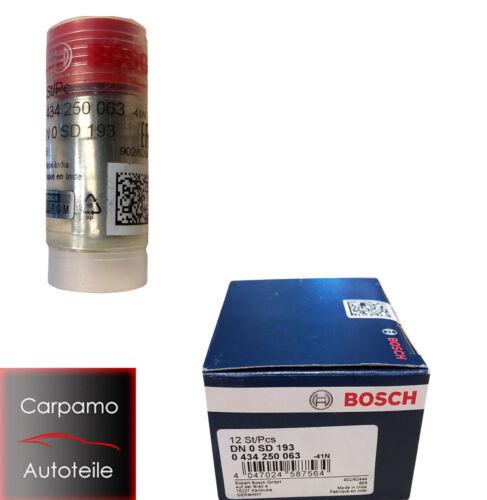 1x Bosch Einspritzdüse Zapfendüse  0 434 250 063 DN0SD193 Opel Kadett E Fiat Kia