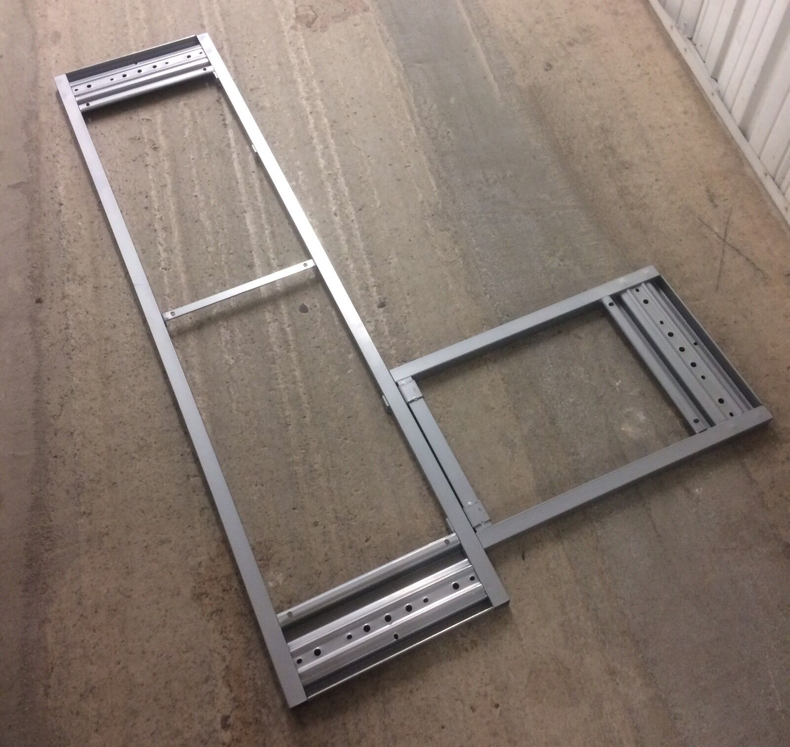 Ikea Galant Desk Frame Silver Color 200 805 57 For Sale Online Ebay