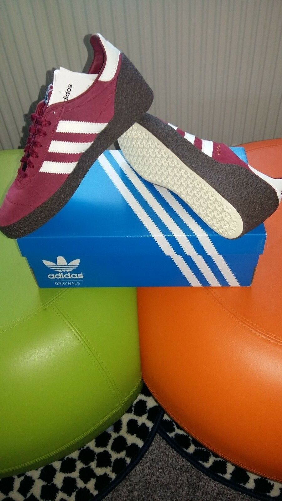 Adidas Montreal 76  originals.. Terrace classics..trainers Größe 9 uk eur 43 1 3