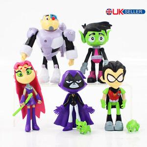 7Pcs-Teen-Titans-Go-Robin-Cyborg-Beast-Boy-Raven-Starfire-Action-Figure-Toy-uk