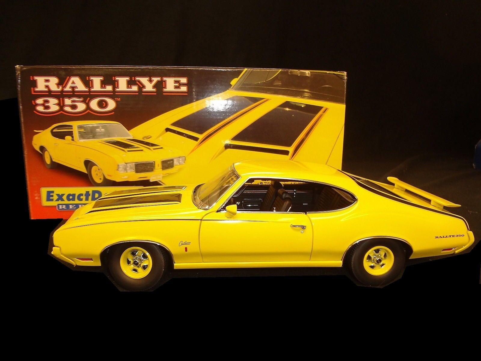 1 18 Oldsmobile RALLYE 350 Gelb 1970 LANE   Exact Detail yuk00    Merkwürdige Form