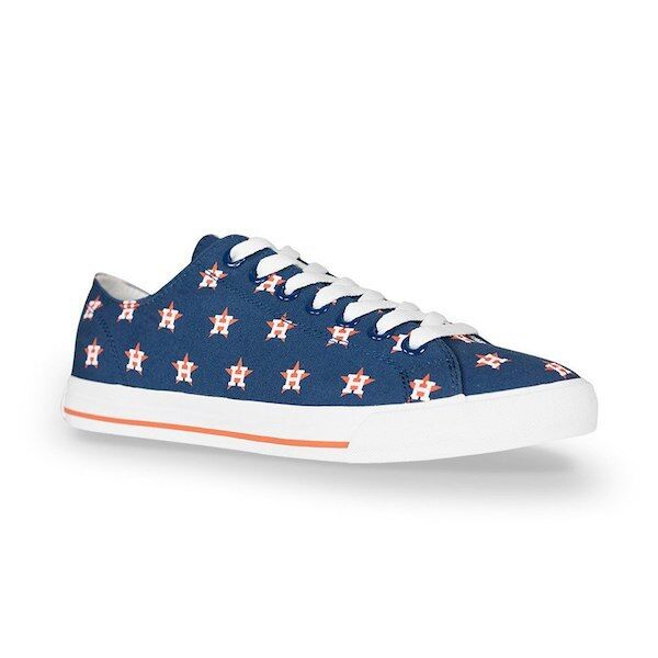 ad5ee528160297 Houston Astros MLB Row One Team Apparel Men Kids Low Top shoes Sneakers  Women nmmkeb6500-Athletic Shoes