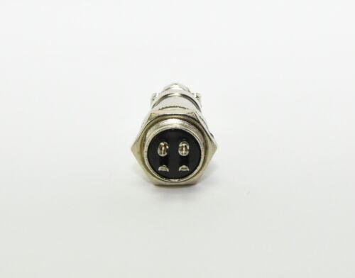 GX16-4 4 Pin Plug and Socket 16mm Screw Type Panel Connector Aviation Plug