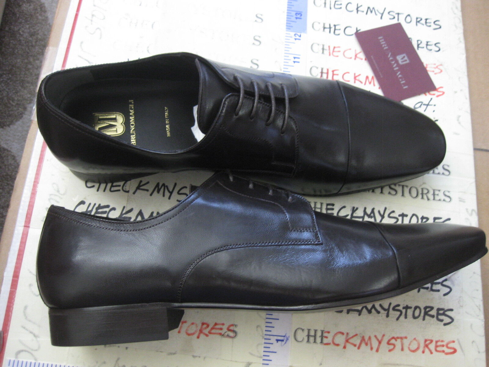 NEW  450 450 450 Bruno Magli Martico ITALIAN LEATHER OXFORDS MADE IN ITALY CHOOSE SIZE 067255