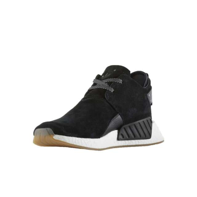 8c33425b84896 Mens adidas NMD C2 Suede Core Black White BY3011 US 8.5 for sale ...