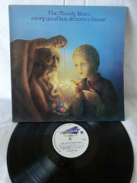 The Moody Blues-Every Good Boy Deserves Favour LP 1971 Superb 1st Pressing