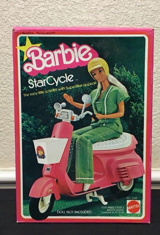 Raro  1978 Vintage Mattel Barbie Estrella ciclo starcycle Nuevo en Caja Original