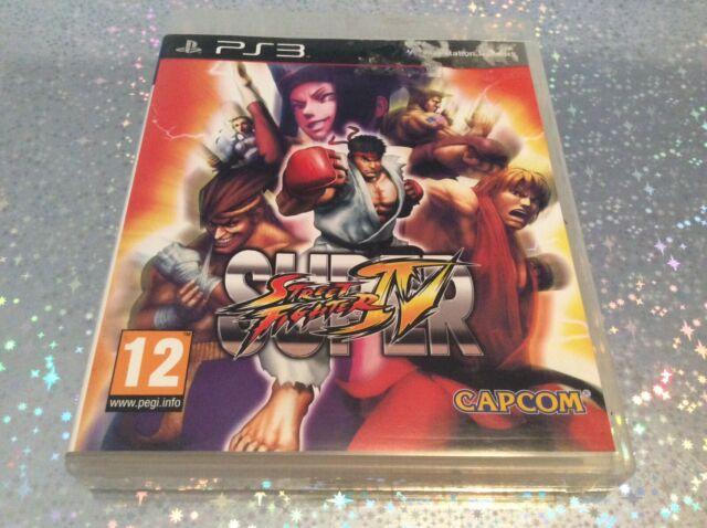 PS3 Super Street Fighter IV 4 PLAYSTATION 3 SONY PAL FR EN BOITE