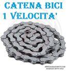 CATENA BICI BICICLETTA A 1 VELOCITA' BMX OLANDA PASSEGGIO MONOVELOCITA'