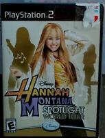 Hannah Montana: Spotlight World Tour (sony Playstation 2, 2008) In Package