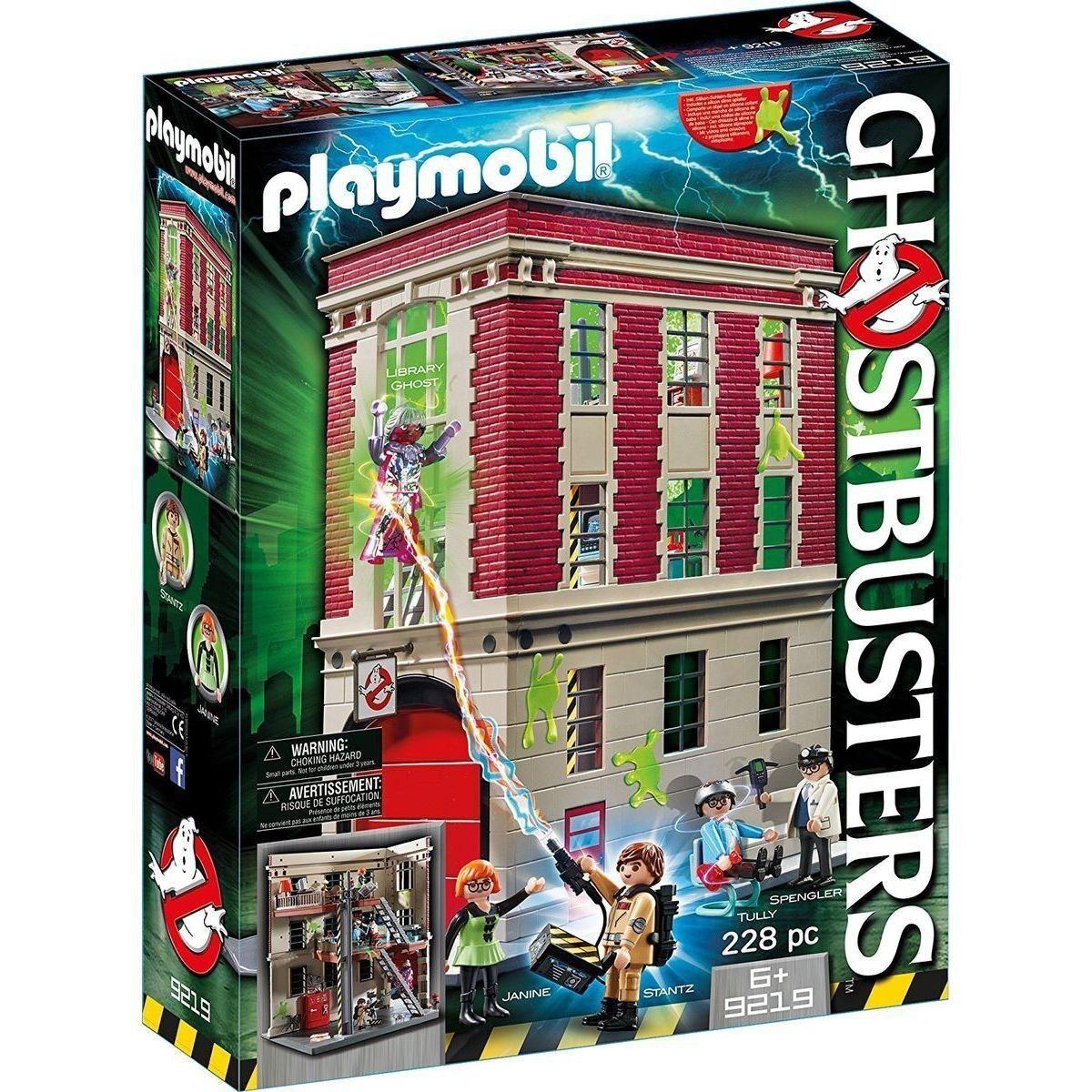 Profitez de la fin de l'année, l'année, l'année, copiez le prix du cadeau, c'est au-delà de votre imagination! Playmobil 9219 Le quartier Général Ghostbusters Neuf d306db