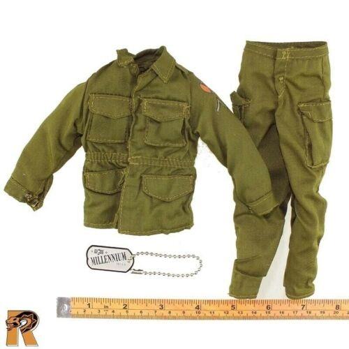 Guerre de Corée privé-Vert uniforme Set 1//6 Scale-Gi Joe Action Figures