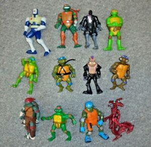 Teenage-Mutant-Ninja-Turtles-Job-Lotto-Bundle-COLLEZIONE-ACTION-FIGURE-Taglia-A22