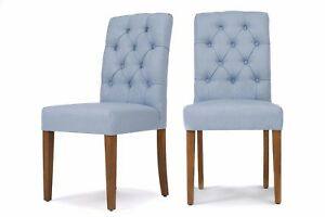 Astonishing Details About X 2 Anton Dining Chairs Duck Egg Blue Button Pleated Back Free Delivery Pair Cjindustries Chair Design For Home Cjindustriesco