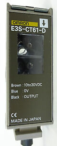 OMRON E3S-CT61-D Reflektions Lichtschranke Photoelectric Switch Foto 10...30VDC