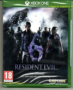 Resident-Evil-6-HD-inc-ALL-MAP-MULTIPLAYER-DLC-039-New-amp-Sealed-039-XBOX-ONE-1