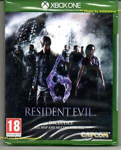 Resident-EVIL-6-HD-Inc-tutti-MAPPA-multiplayer-DLC-034-NUOVO-E-SIGILLATO-039-XBOX-ONE-1