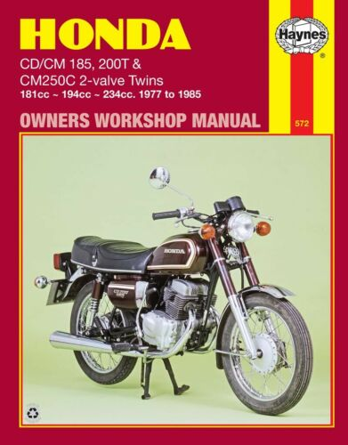 NEW HAYNES MANUAL HONDA CM 200T 1980 TWIN