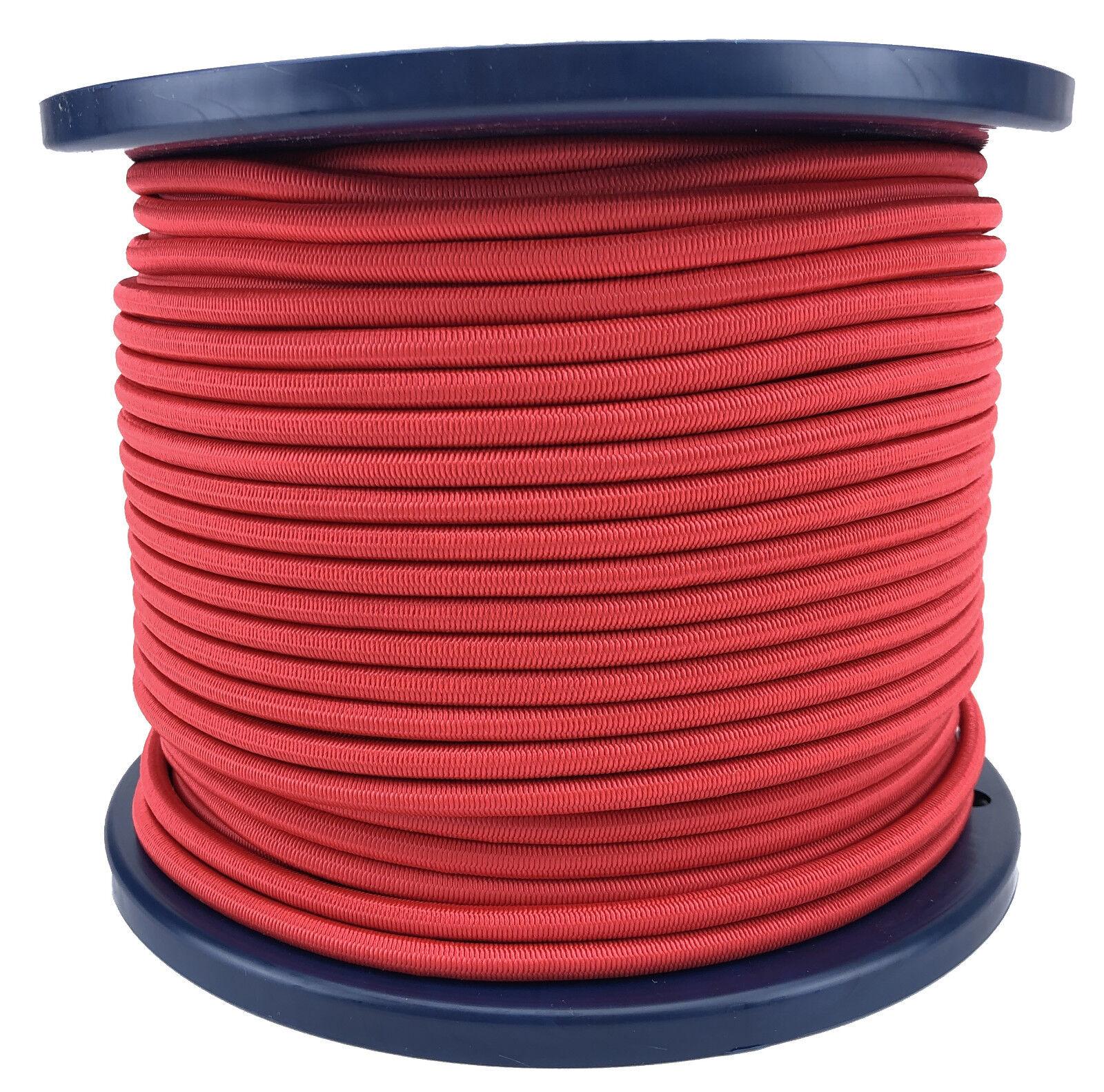 6mm Rot Elastischer Gummizug Seil Gummiseil Festbinden UV Stabil