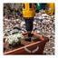 "Pro 9/"" //18/"" Planter Garden Auger Spiral Drill Bit Planting Hole Digger Drill Kit"