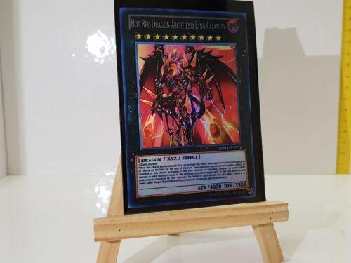 Yugioh Orica Hot Red Dragon Archfiend King galamity dieux HOLO Custom