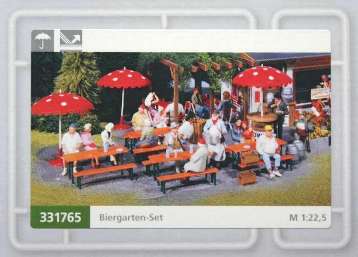 Neu Ovp für Gartenbahn Spur G POLA 333217 Briefkasten mit Standsäule    1:22,5