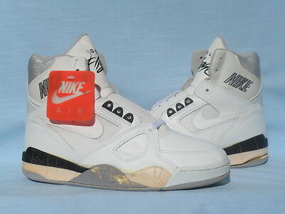 Vintage 1989 Nike Air Solo Flight High Force Command Pressure Jordan Size 8.5