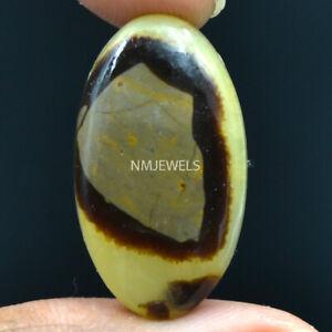 Cts-22-30-Natural-Madagascar-Dragon-Septarian-Cabochon-Oval-Cab-Loose-Gemstone