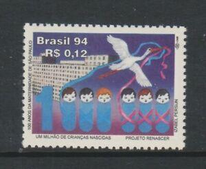 Brazil - 1994, Sau Paulo Maternity Hospital, Bird stamp - MNH - SG 2671
