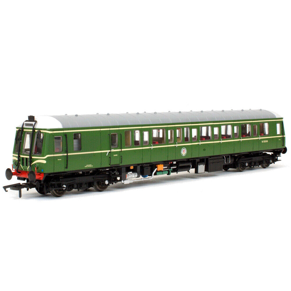 Dapol Class 122 55018 BR Green with Speed Whiskers 4D-015-008 - Free Shipping
