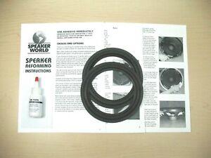 ADVENT-2-6-034-6-5-034-Woofer-Speaker-REFOAM-Repair-Kit-For-Advent-Baby-1pr