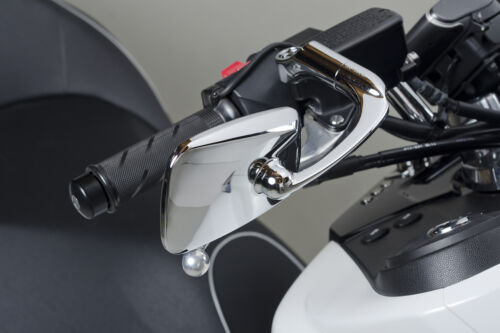 TANAX BAREN T.T Mirror Chrome plated 8-Level Rotatable 10mm for Motorcycle