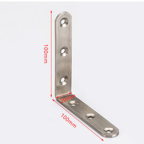 Degree Angle Bracket Metal Thickness Mending Repair Connector Angle Bracket
