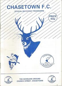 CHASETOWN-v-GRESLEY-ROVERS-Programme-1992