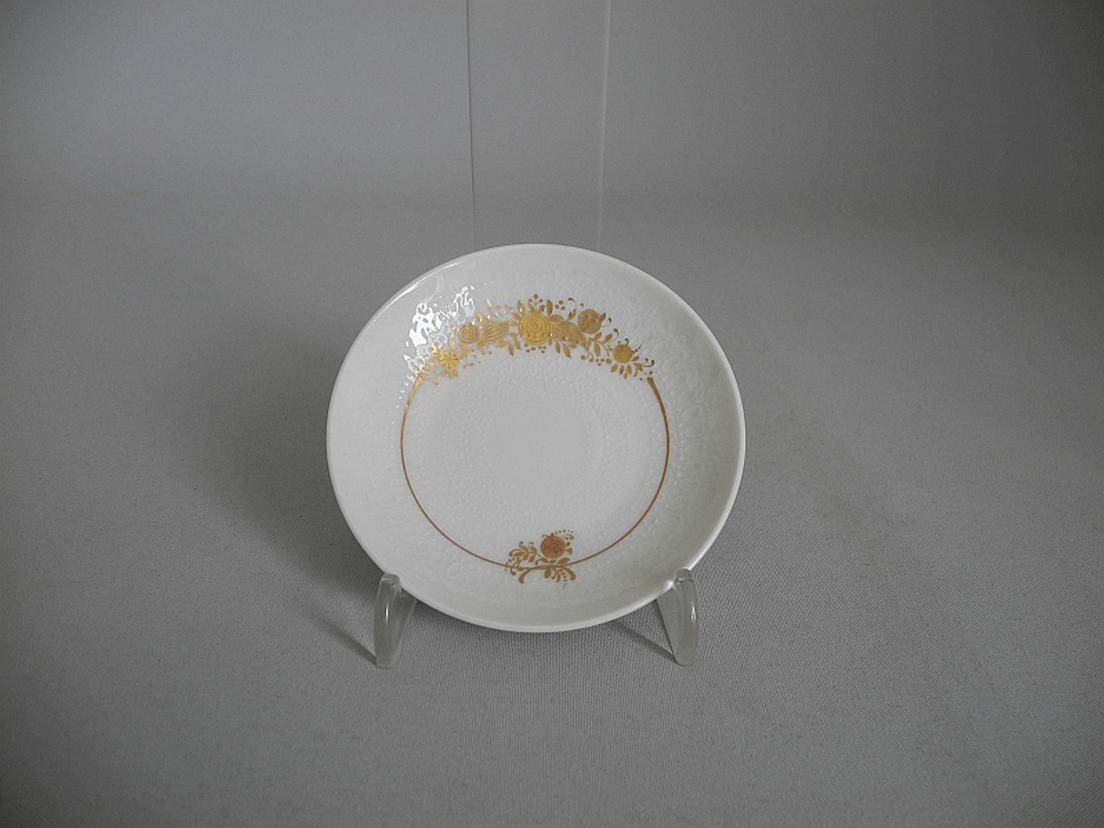 Rosenthal Romance en la majeur 6 confitures assiette sachet de thé-papiers-RAR