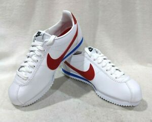 Nike-Women-039-s-Classic-Cortez-White-Varsity-Red-Leather-Sneakers-Asst-Sizes-NWB