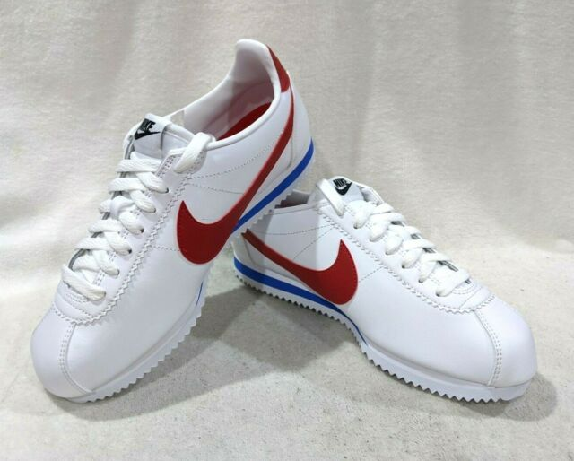 Nike Women's Classic Cortez White/Varsity Red Leather Sneakers - Asst Sizes NWB