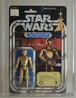 Vintage Star Wars Kenner Takara See-Threepio C3PO 12 Back-B AFA85 (80/85/85)