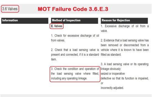 SAXO /& Peugeot 106 Carga Detección Compensador Válvula Dosificadora Vínculo Primavera