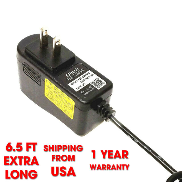 12V AC Adapter For Stanley JumpIT J509 600 1000 Peak 300A 500A AMP Jump Starter