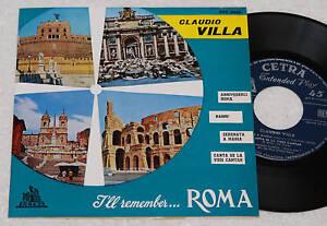 CLAUDIO-VILLA-EP-ARRIVEDERCI-ROMA-3-1-ST-1958-EX