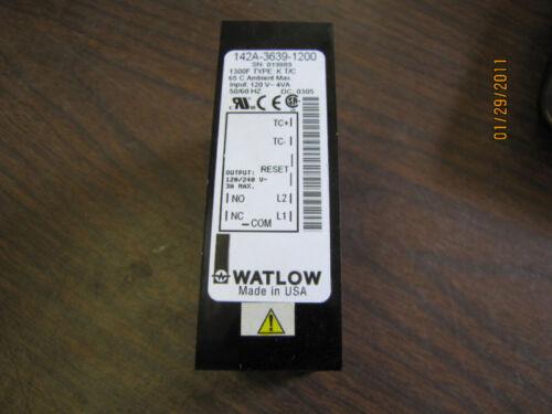 WATLOW 142A-3639-1200 TEMP CONTROL MODULE 120V~4VA