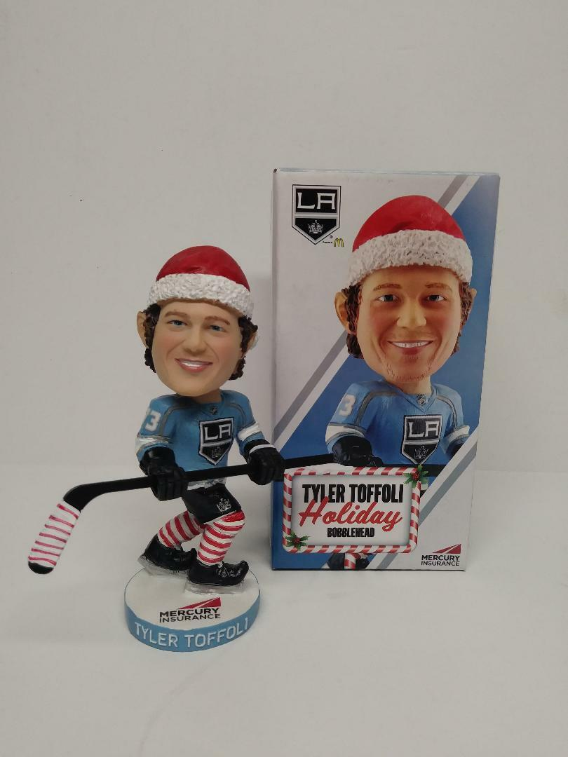 Tyler Toffoli Holiday Christmas Bobblehead SGA (12/5/17)Brand New In Box