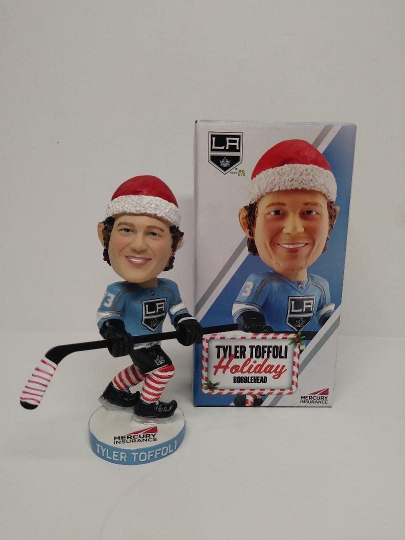 Tyler Toffoli Holiday Christmas Bobblehead SGA (12/5/17)Brand New In Box